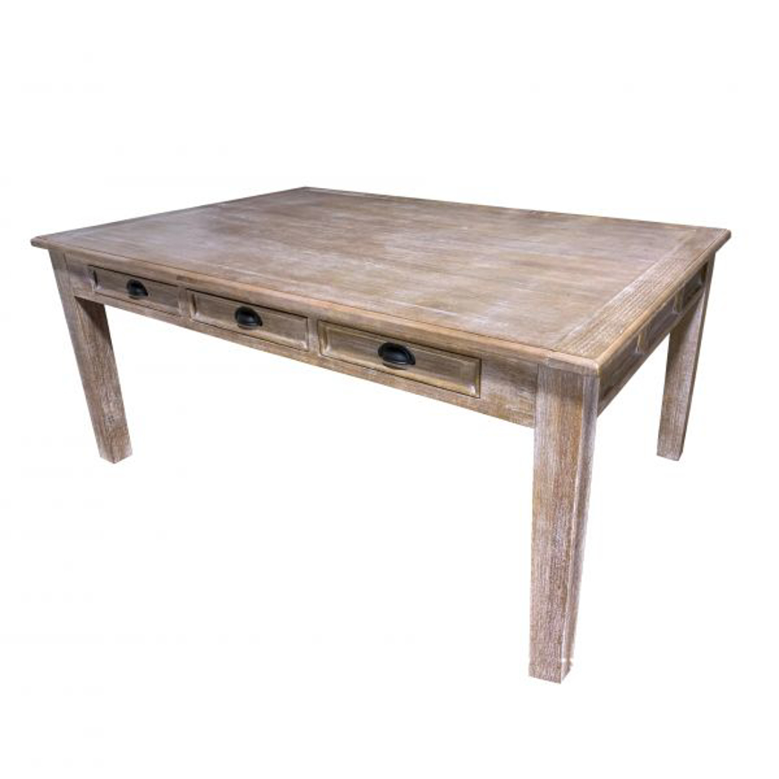 Picture of RUSTIC 6' JOANNA TABLE WITH DRAWERS