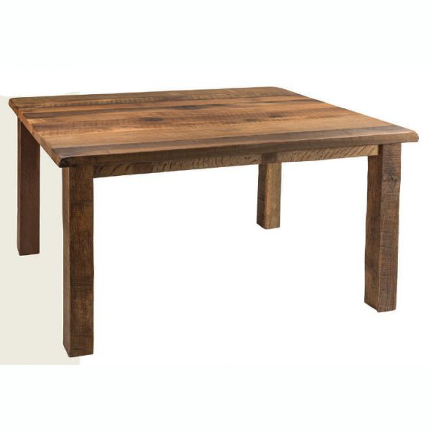 Picture of AMISH RECLAIMED BARNWOOD LEG TABLE