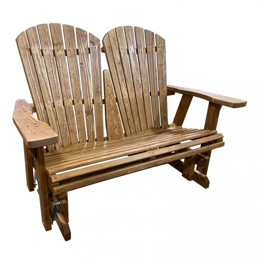 Picture of AMISH DOUBLE ADIRONDACK GLIDER